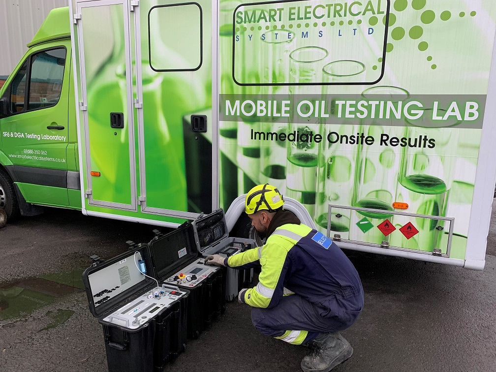 Smart Electrical Systems - Mobile Oil Testing Lab